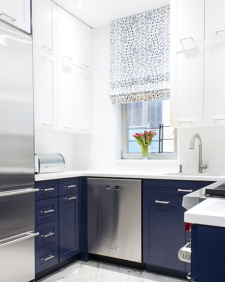 """10x10 Bedroom Layout Ikea: Lilly Bunn, Inc On Instagram: """"💙this Petit NYC Kitchen"""