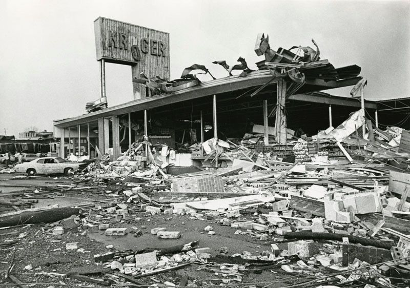 Xenia Tornado 1974 Xenia Ohio My Hometown