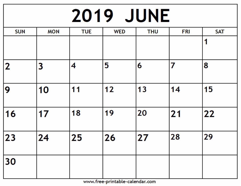 June 2019 Calendar Free Printable Calendar Com Calendar