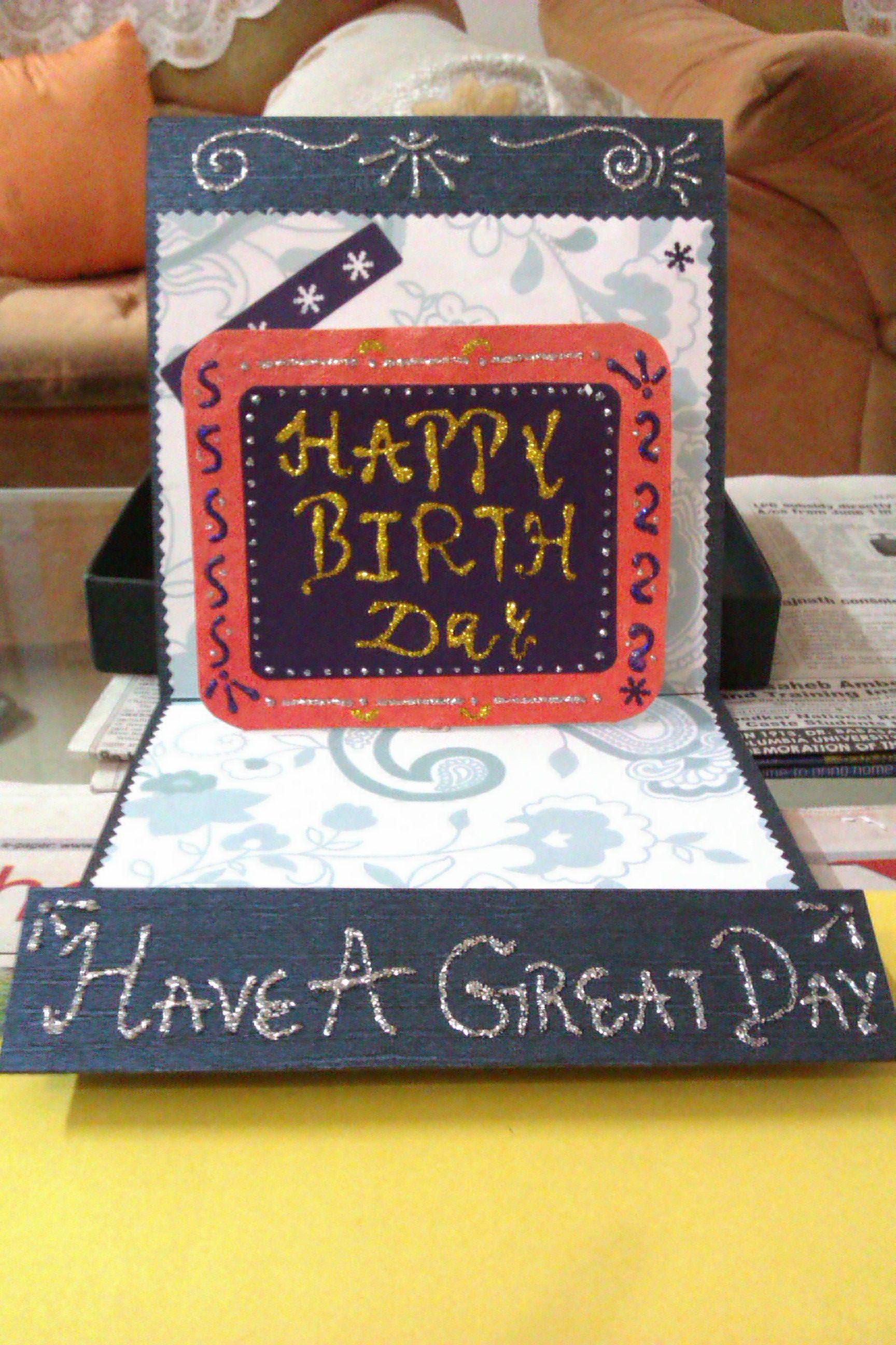 pop up card  cards handmade cards handmade