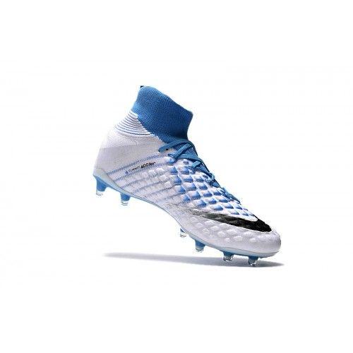 info for 2cfb5 63cce Nike Hypervenom Fotbollsskor - Ny Nike Hypervenom Phantom III DF FG Vit Bla  Fotbollsskor