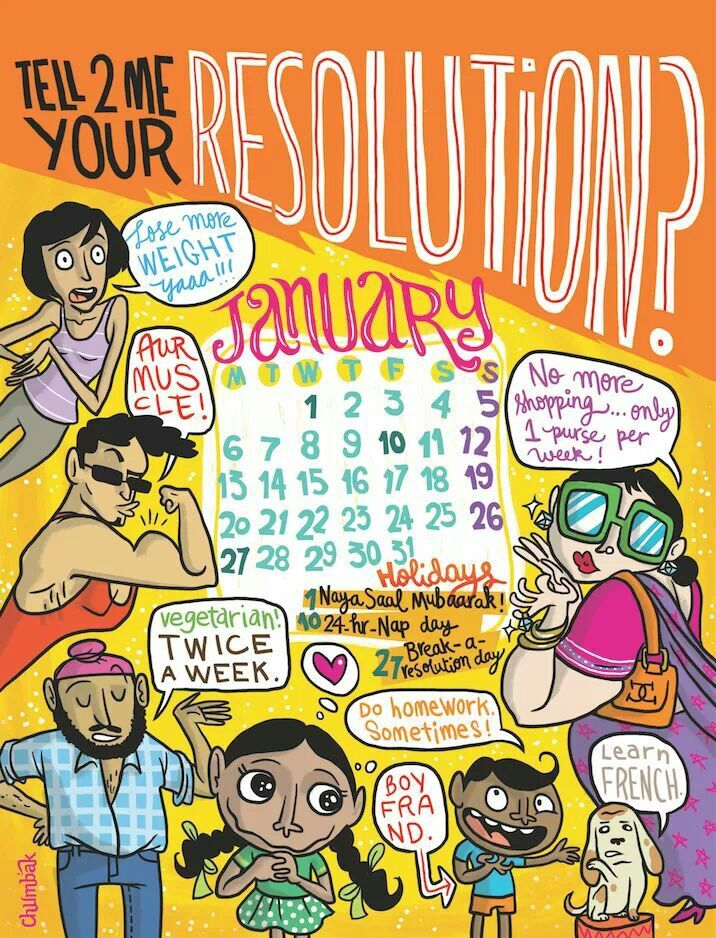 Chumbak Calendar With Images Doodles Concept Art Characters