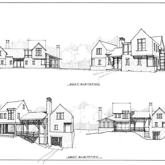 Design Sketch Elevations House Sketch House Sketch Plan House Designs Exterior