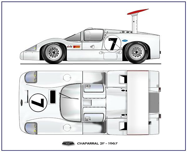 1967 Chaparral 2F by Paul VanHest