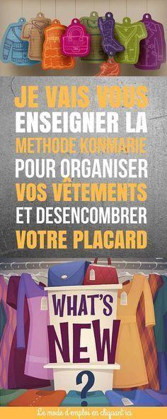 Comment Organiser vos vêtements et organiser votre placard - comment organiser son appartement