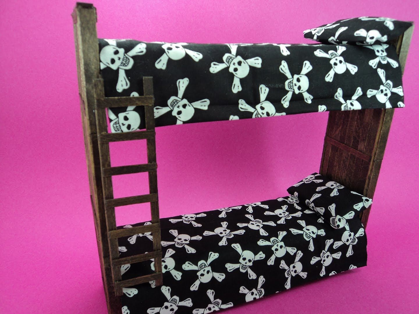 How To Make Doll Bunk Beds Doll Crafts Monster High Barbie Eah
