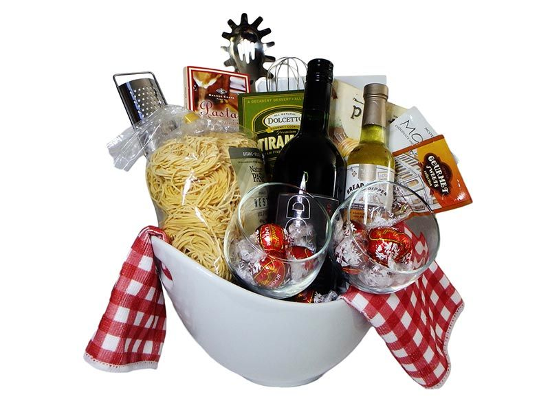 Pasta gift basket | Gift Ideas | Pinterest | Basket ideas, Gift ...