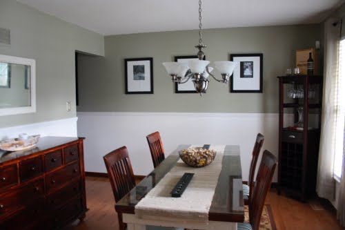 Glidden Khaki Green A Little Dark For The Whole Wall But Looks Great With Beadboard