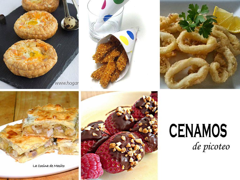 Recetas variadas para cenas de picoteo for Ideas para una cena de picoteo