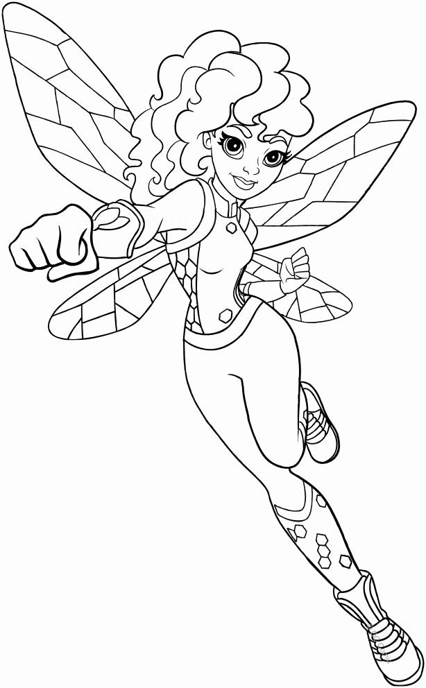 Coloring Pages For Kids Of Dc Superhero Girls In 2020 Superhero Coloring Superhero Coloring Pages Coloring Pages For Girls