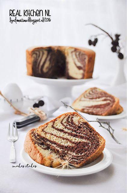 Real Kitchen Nl Chiffon Zebra Cake Chiffon Cake 77 Lm Kue Zebra Resep Makanan Penutup Kue Chiffon