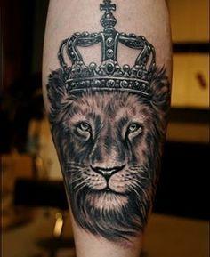 Aslan Lion Tattoo