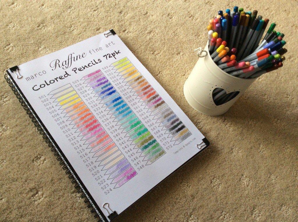 marco fine färgpennor