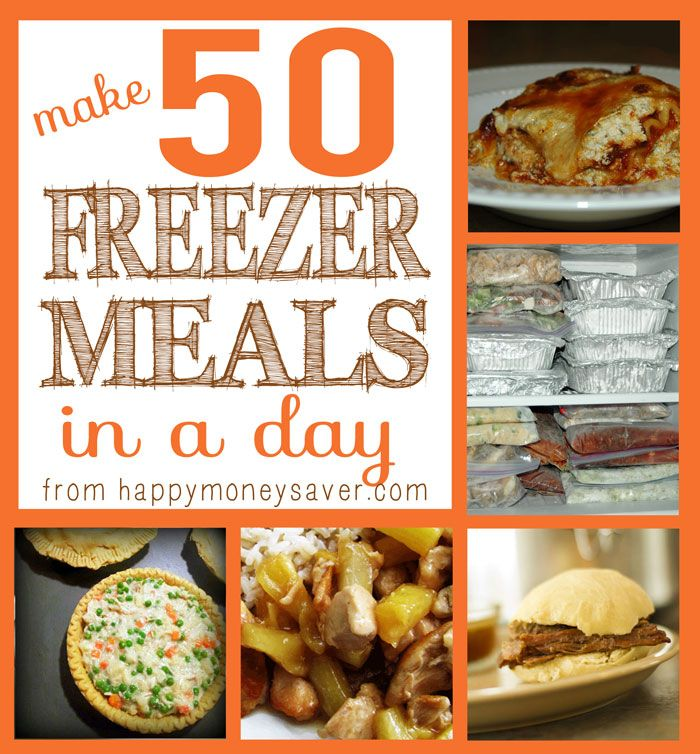 Making 50 Freezer Meals In One Day Freezer Meal Party