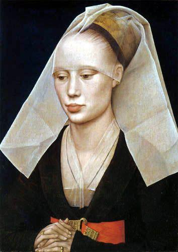 """""""Portrait of a young lady""""  Petrus Christus ca.1450"""