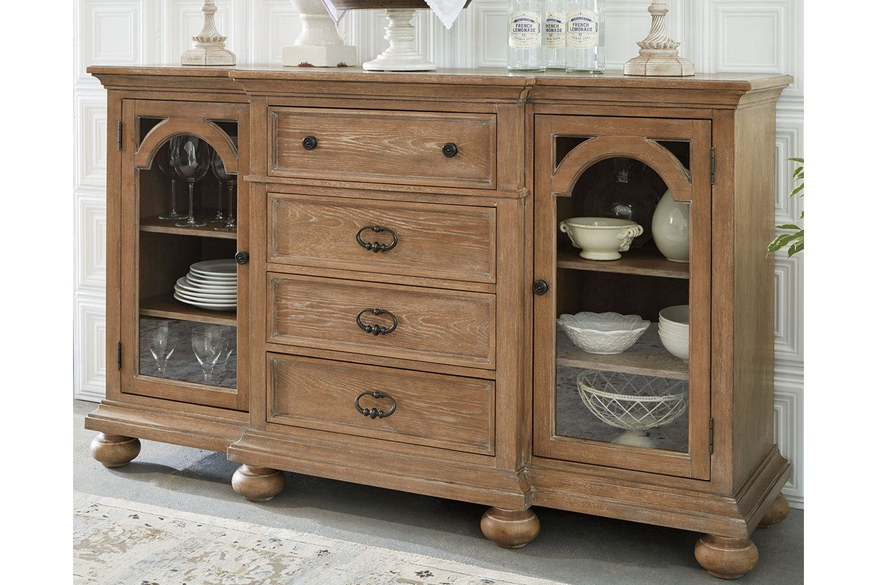 Ollesburg Dining Room Server With Images Dining Room Server