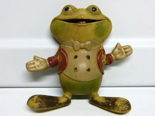 Vintage-1948-Rubber-Froggie-the-Gremlin-Frog-Squeaker-Toy-Rempel ...