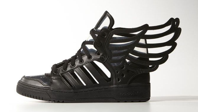 promo code 47e68 58974 The adidas Jeremy Scott Wings 2.0 Cuts It Out, Literally