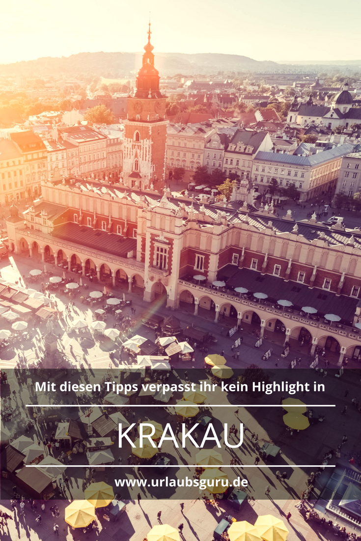 Die besten Krakau Tipps auf einen Blick #futuretravel