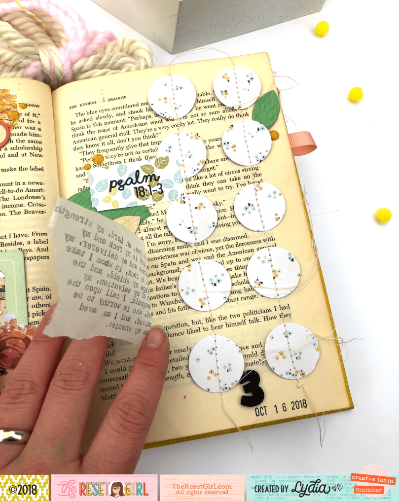 Wedding decorations set october 2018 The Reset Girl October  Faithful Life Challenge Altered Book