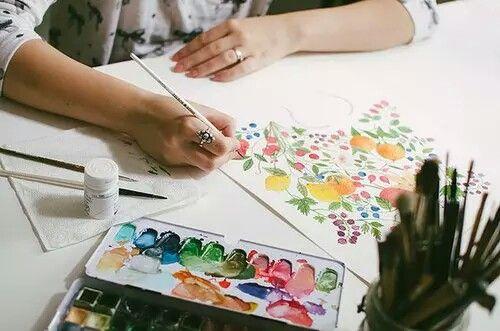 Pintura es expresión, expresión es arte.