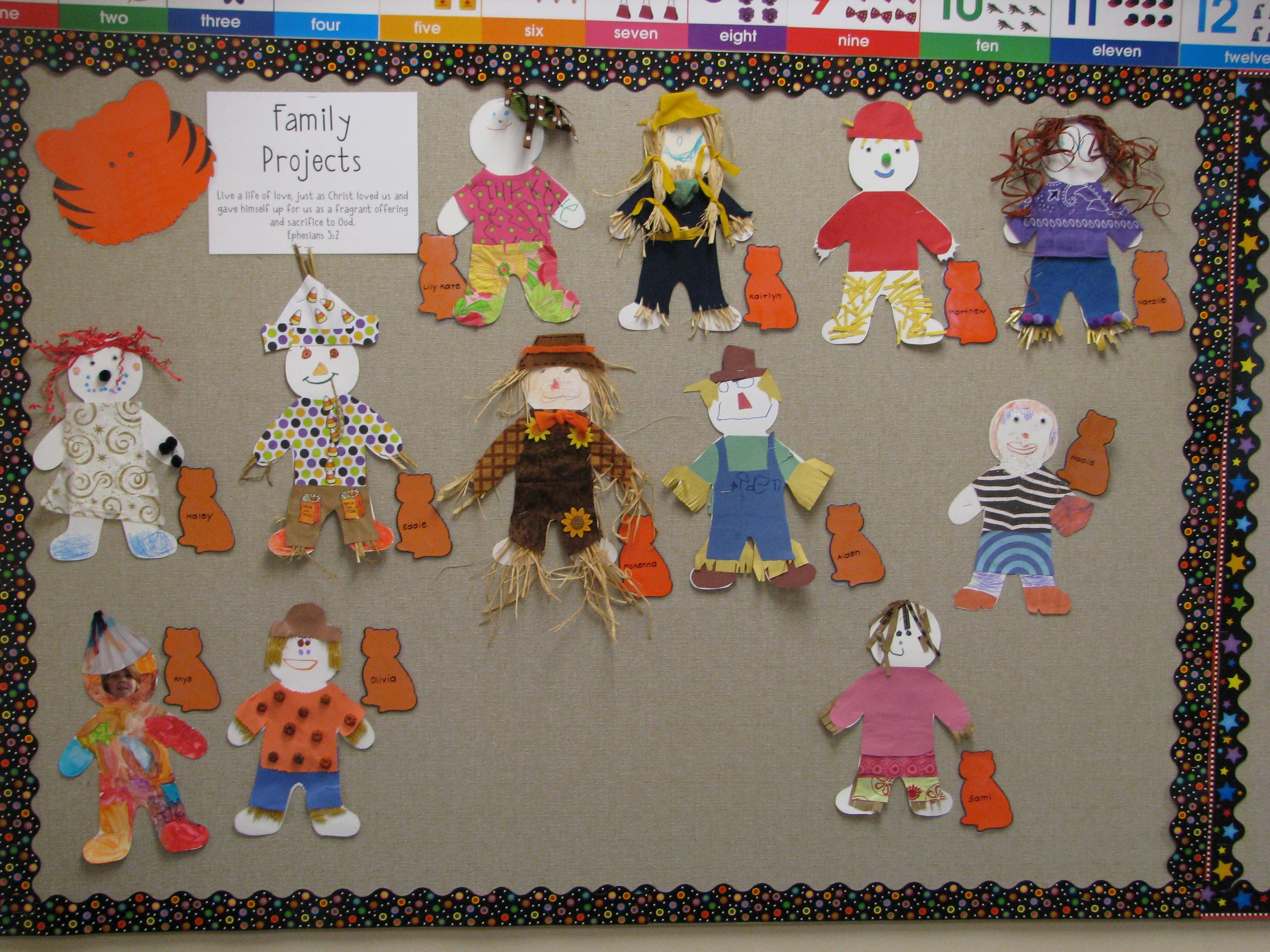 September Family Homework Project - Scarecrow | Fall Fun in ...