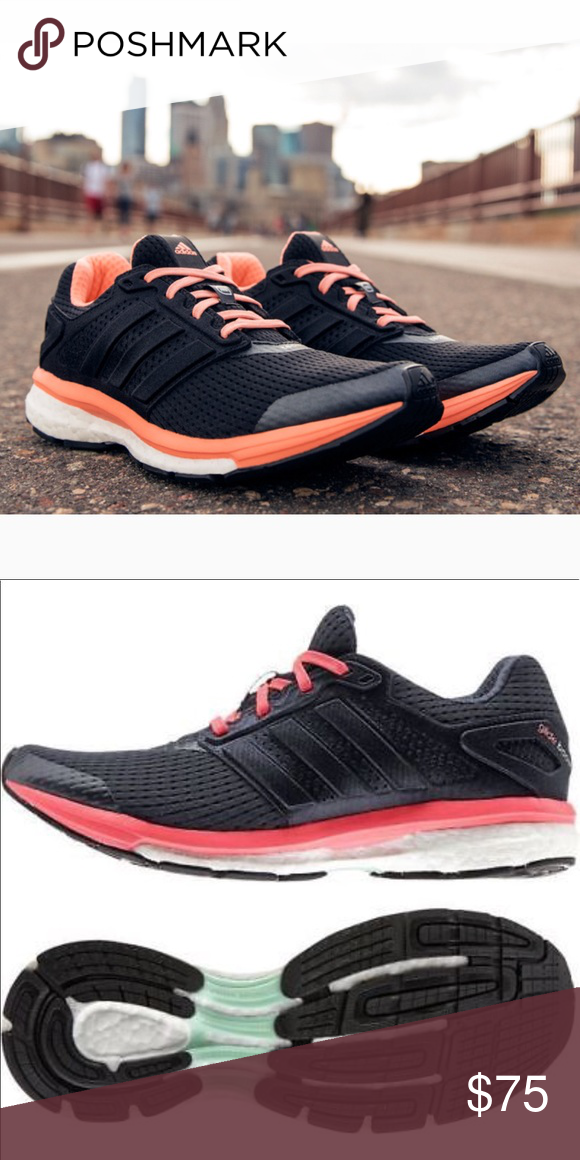 Escultura cayó cáustico  NEW • Adidas • Supernova Glide Boost 7 Shoes 9 | Adidas supernova, Black  running shoes, Best running shoes