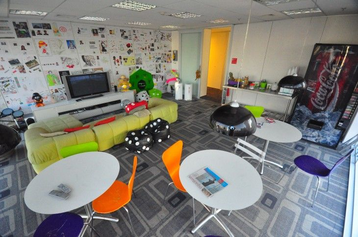 Inside 9 Awesome Tech Workplaces In Sao Paulo Inspiring Spaces Room Cool Office