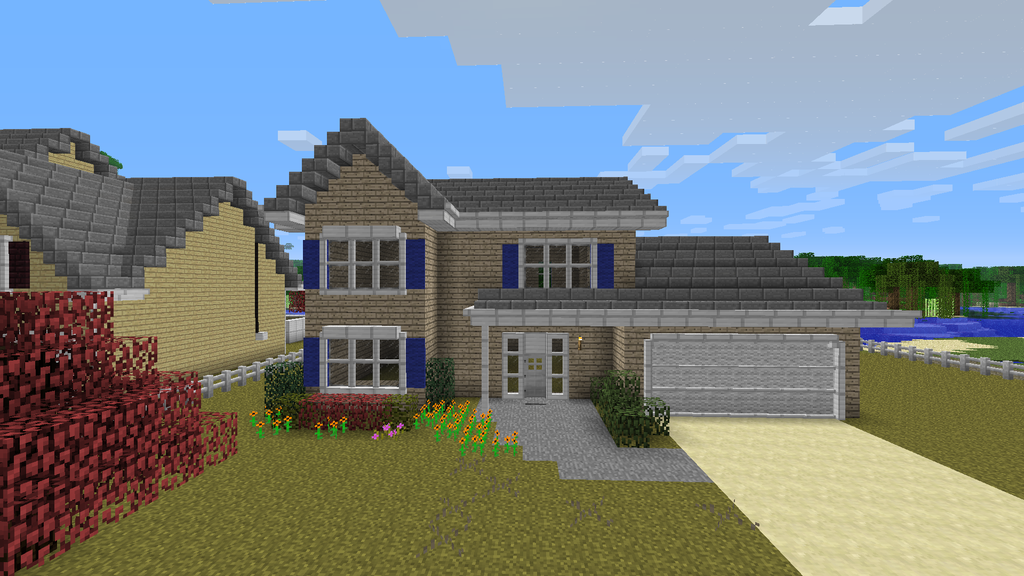 Minecraft house designs and blueprints minecraft house design minecra - Design house minecraft ...