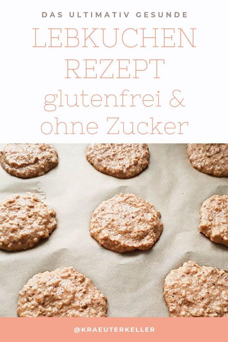 Lebkuchen Rezept – ohne Zucker und glutenfrei – so gehts!