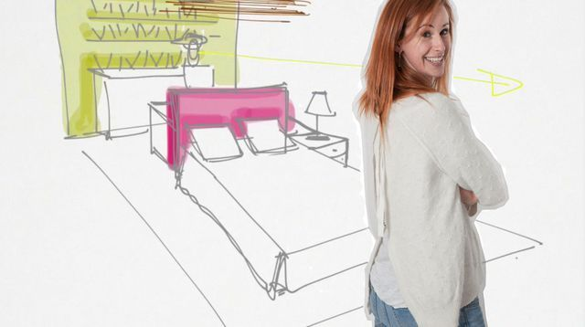 am nager une petite chambre avec un coin bureau deco. Black Bedroom Furniture Sets. Home Design Ideas