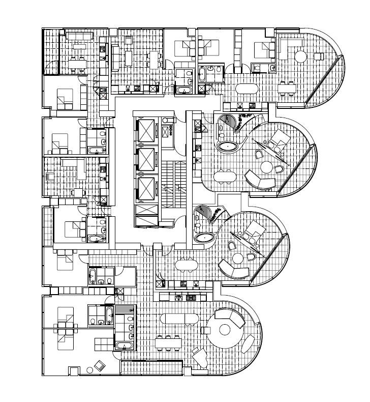 Jameson House Typical Residential Layout Via Foster