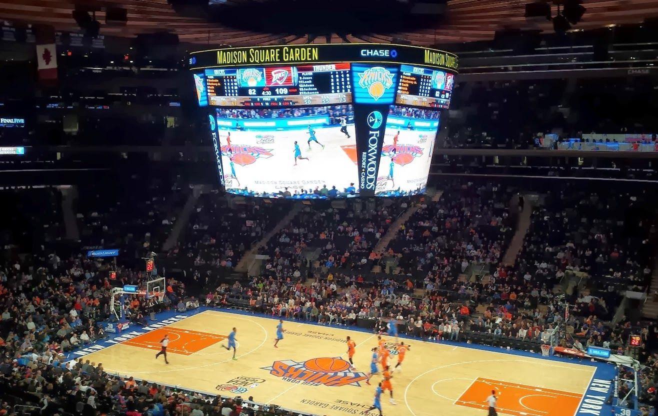 as long as we're happy: Go Knicks! Häämatkalle liput otteluun!