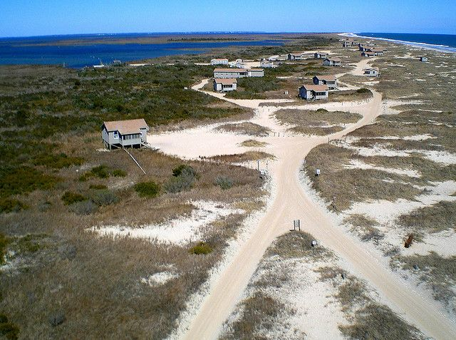 Cape Lookout National Seashore Rental Cabins On South Core