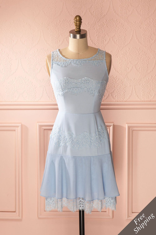 Lydine Robes Buste Mode Minine