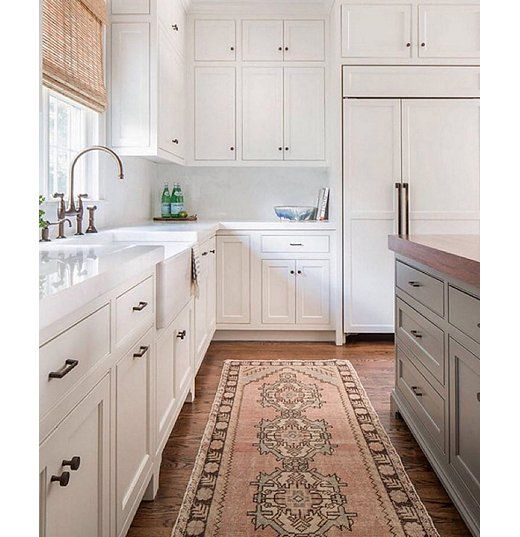 Dimension And Texture In A Nearly All White Kitchen With A