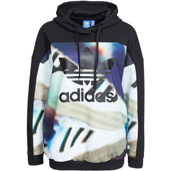 Adidas Originals Aop Hoodie (56.650 CRC) ❤ liked on