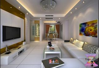 افضل ديكورات جبس اسقف راقيه 2019 Modern Gypsum Board For Walls And Ceilings Built In Furniture Hall Design Living Room Designs
