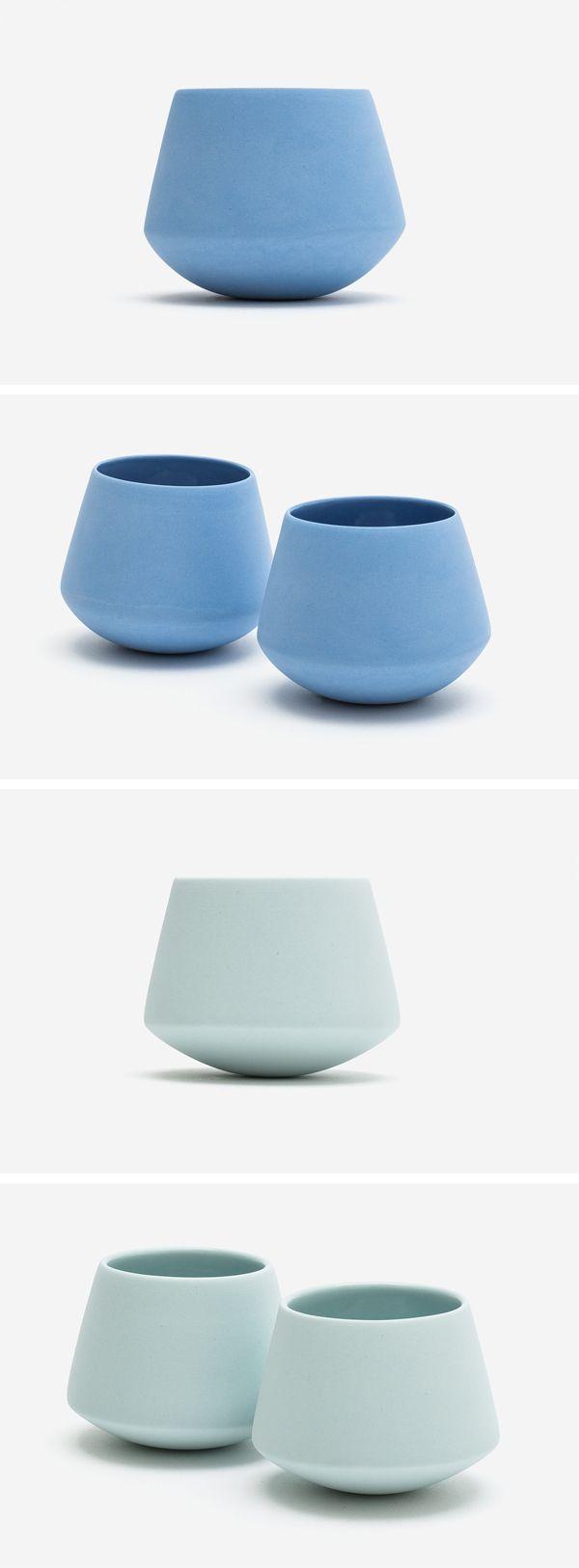 Porcelain Cup Small   by Elke van den Berg   001 Ceramics ...