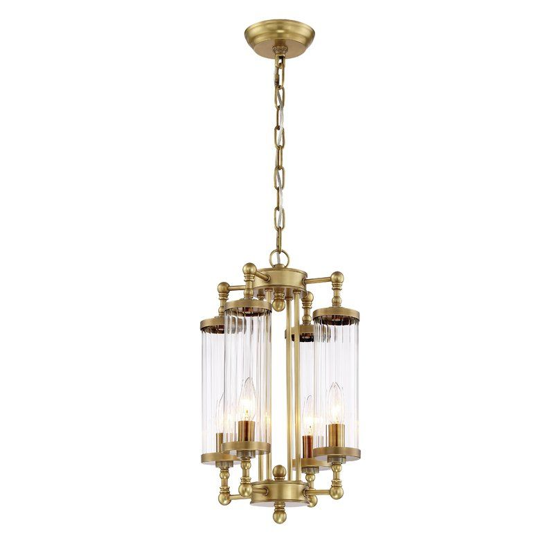 Zeev regis 4 light candle style chandelier wayfair