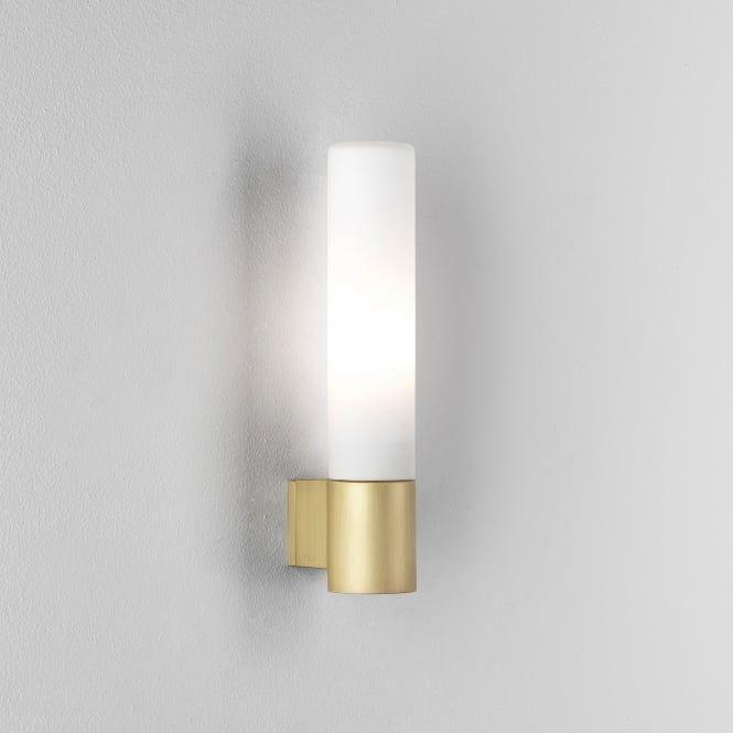 Astro Lights Bari Ip44 Bathroom Wall Light In Matt Gold Wall