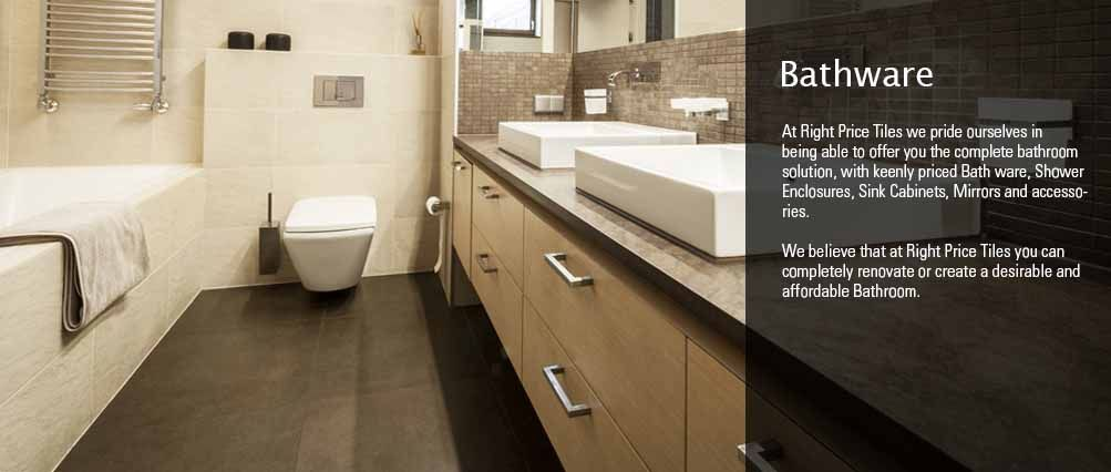 BATHWARE : Right Price Tiles - The Right Tiles at the Right Price ...
