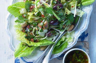 Spiced Moroccan Salad recipe, courtesy of Lebanese recipe site, homemade-recipes.blogspot.com