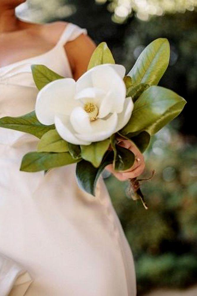 27 Stylish Single Bloom Wedding Bouquets | wedding | Pinterest ...
