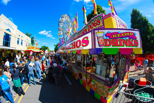 I'm so excited for the fair next week <3 I just have to stay away from those cows ;) @adrienne