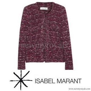 ISABEL MARANT Purple Ariana Jacket