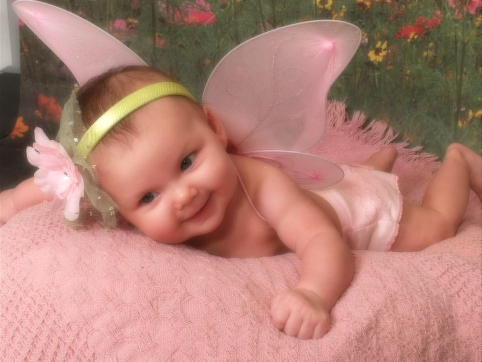 My little tinkerBelle! ;D