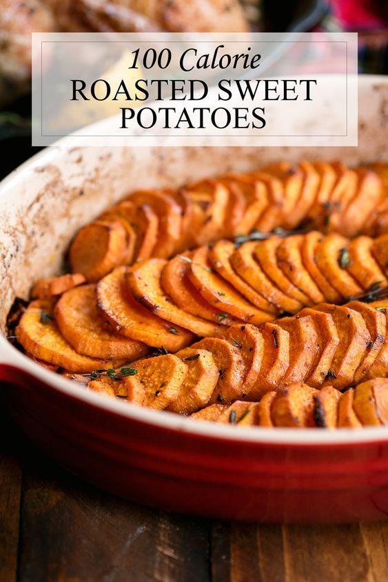Healthy Oven Baked Sweet Potatoes