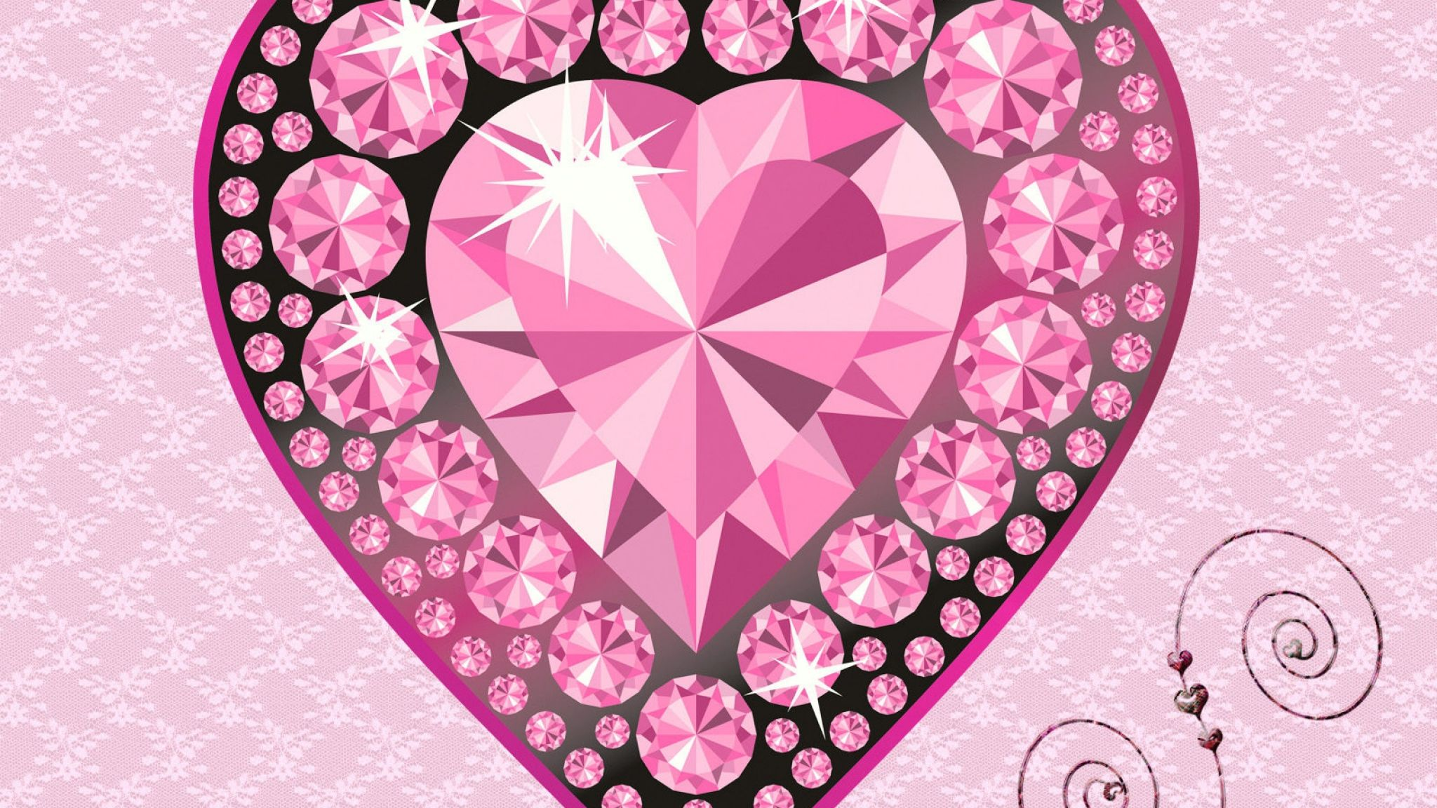 pink diamond wallpapers group hd wallpapers pinterest