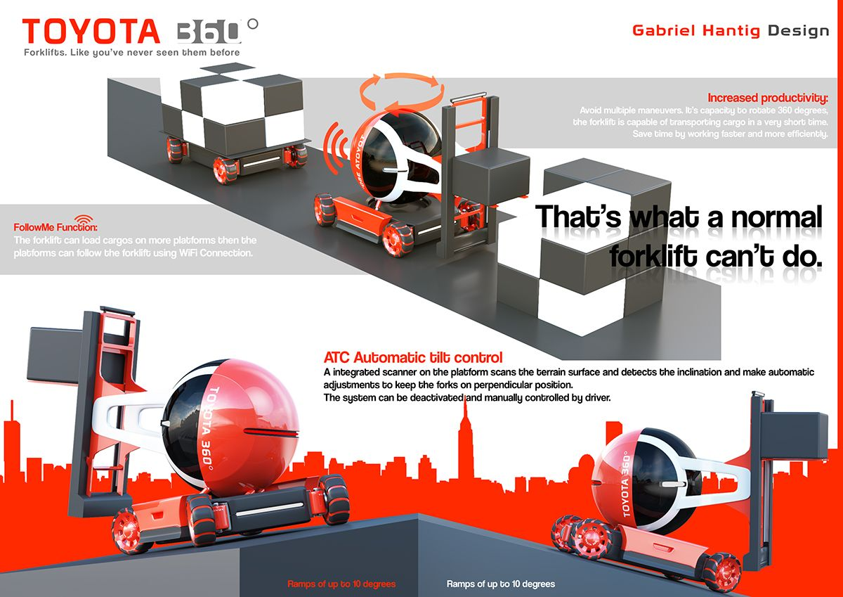 toyota design competition 2015 2016 entrygabriel hantig fork lift design competitions creative industries [ 1200 x 849 Pixel ]